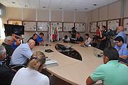 DESCRIZIONE : Firenze Raduno Collegiale Nazionale Italiana Maschile Conferenza Stampa<br /> GIOCATORE : Marco Mordente Simone Pianigiani <br /> SQUADRA : Nazionale Italia Uomini <br /> EVENTO : Raduno Collegiale Nazionale Italiana Maschile <br /> GARA : Allenamento<br /> DATA : 14/07/2010 <br /> CATEGORIA : Conferenza Stampa Ritratto<br /> SPORT : Pallacanestro <br /> AUTORE : Agenzia Ciamillo-Castoria/M.Gregolin<br /> Galleria : Fip Nazionali 2010 <br /> Fotonotizia : Firenze Raduno Collegiale Nazionale Italiana Maschile Conferenza Stampa<br /> Predefinita :