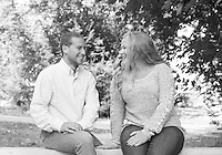 Hannah and Alex portrait session at Lake Shore Park.<br />  ©2015 Karen Bobotas Photographer