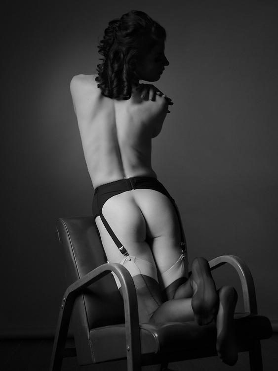 Model: Camille Boire; <br /> Makeup &amp; hair: Judi Willrich; Styling, lingerie: Gigi's House of Frills