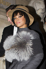 FEB 27 2014  Celebrity Sighting At Paris Fashion Week