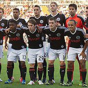 Philadelphia Union players pose for a photo prior to a  MLS regular season international friendly match against Stoke City F.C. Tuesday, July. 30, 2013 at PPL Park in Chester PA.