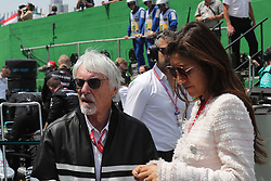 November 17, 2019, Sao Paulo, Brazil: xa9; Photo4 / LaPresse.17/11/2019 Sao Paulo, Brazil.Sport .Grand Prix Formula One Brazil 2019.In the pic: Bernie Ecclestone (GBR) and Fabiana Flosi (BRA), Wife of Bernie Ecclestone (Credit Image: © Photo4/Lapresse via ZUMA Press)