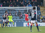 St Mirren&rsquo;s John Sutton scores the opening goal - Dundee v St Mirren in the William Hill Scottish Cup at Dens Park, Dundee. Photo: David Young<br /> <br />  - &copy; David Young - www.davidyoungphoto.co.uk - email: davidyoungphoto@gmail.com