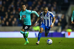 Liam Rosenior of Brighton & Hove Albion in action - Mandatory by-line: Jason Brown/JMP - 10/03/2017 - FOOTBALL - Amex Stadium - Brighton, England - Brighton and Hove Albion v Derby County - Sky Bet Championship