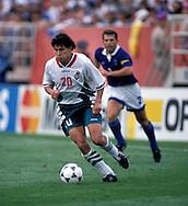 FIFA World Cup - USA 1994.Krassimir Balakov - Bulgaria.©Juha Tamminen