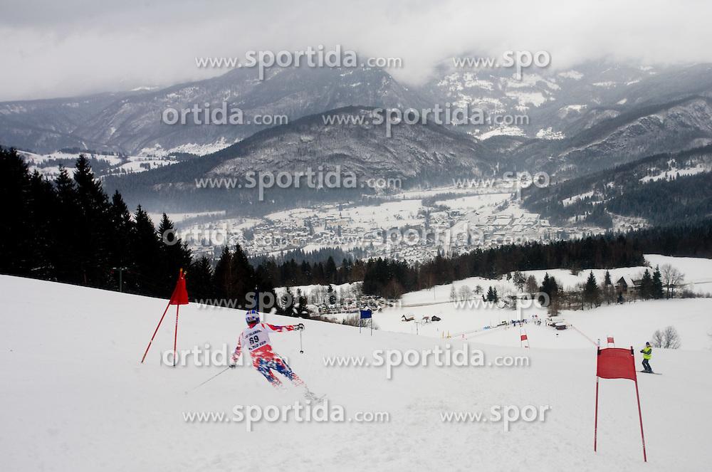 Kobla race course at FIS Telemark World Cup Kobla 2009 race,  on January 18, 2009, in Kobla, Bohinj, Slovenia.  (Photo by Vid Ponikvar / Sportida)