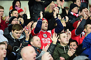 Southampton fans applaud their team during the Premier League match between West Bromwich Albion and Southampton at The Hawthorns, West Bromwich, England on 3 February 2018. Picture by Dennis Goodwin.