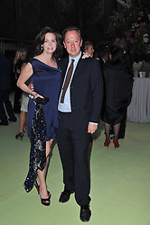 GEORDIE & KATHRYN GREIG at a dinner hosted by Cartier in celebration of the Chelsea Flower Show held at Battersea Power Station, 188 Kirtling Street, London SW8 on 23rd May 2011.