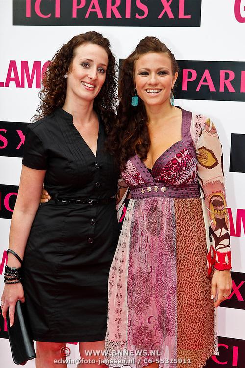 NLD/Amsterdam/20100608 - Uitreiking van de Glammies 2010, Jessica Mendels en vriendin