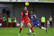 Sonny Bradley of Crawley Town during the Sky Bet League 2 match between Crawley Town and Stevenage at the Checkatrade.com Stadium, Crawley, England on 26 December 2015. Photo by Phil Duncan.