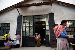 Chilca Station is the main station of the tren macho. It is located 3,200 meters above sea level in the city of Huancayo, in the central highlands of Peru.