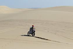 Slovenian Enduro Biker Miran Stanovnik competes during 35th rally Dakar - 2013 edition from Lima (Peru) towards Santiago (Chile), on January 7, 2013. (Photo by MaindruPhoto)