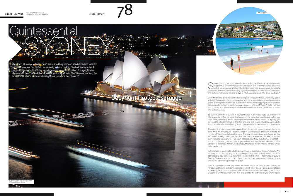 cape+cantary Magazine Sydney feature.