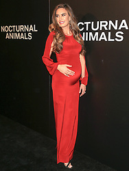 Celebrities are seen attending the special screening of Focus Features' 'Nocturnal Animals' at the Hammer Museum in Los Angeles. 11 Nov 2016 Pictured: Elizabeth Chambers. Photo credit: Bauer Griffin / MEGA TheMegaAgency.com +1 888 505 6342