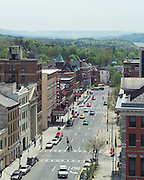 Poughkeepsie, New York features.  A city with potential.