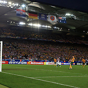 soccer Wo4rld Cup Germany Socceroos  Australia V Croatia  Craig Moore  scores from the penalty spot  230606 Tim Clayton SMH Sport..soccer World Cup Germany Socceroos  Australia V Croatia  Craig Moore  scores from the penalty spot  230606 Tim Clayton SMH Sport
