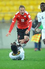 Wellington-Football, Under 20 World Cup, Ghana v Austria