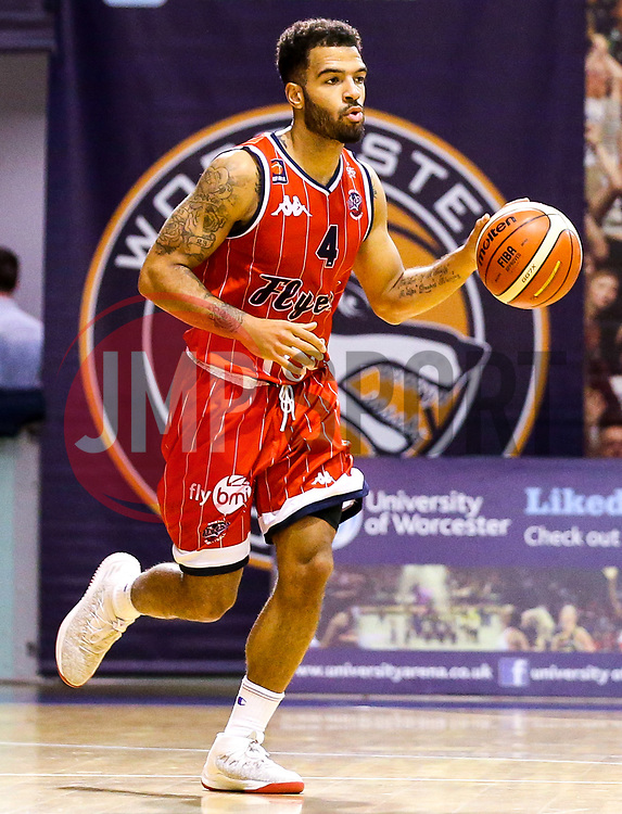 Lewis Champion of Bristol Flyers - Mandatory by-line: Robbie Stephenson/JMP - 05/10/2018 - BASKETBALL - University of Worcester Arena - Worcester, England - Bristol Flyers v Worcester Wolves - British Basketball League