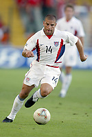 FOTBALL - CONFEDERATIONS CUP 2003 - GROUP B - TYRKIA v USA - 030619 - CHRIS ARMAS  (USA) - PHOTO STEPHANE MANTEY / DIGITALSPORT
