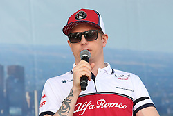March 16, 2019 - KIMI RAIKKONEN attending the F1 Driver Q&A Panel on Qualifying Saturday at the 2019 Formula 1 Australian Grand Prix on March 16, 2019 In Melbourne, Australia  (Credit Image: © Christopher Khoury/Australian Press Agency via ZUMA  Wire)