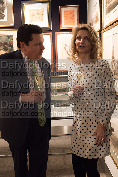 ALASTAIR MCCALL, AISTE ANUSAITE-DAUBARAS, `preview evening  in support of The Eve Appeal, a charity dedicated to protecting women from gynaecological cancers. Bonhams Knightsbridge, Montpelier St. London. 29 April 2019