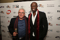 Trevor Horn and Seal (L to R).The Music Producers Guild Awards, Park Plaza Riverbank London :Thursday, Feb 13. 2014 (Photo John Marshall/JM Enternational)