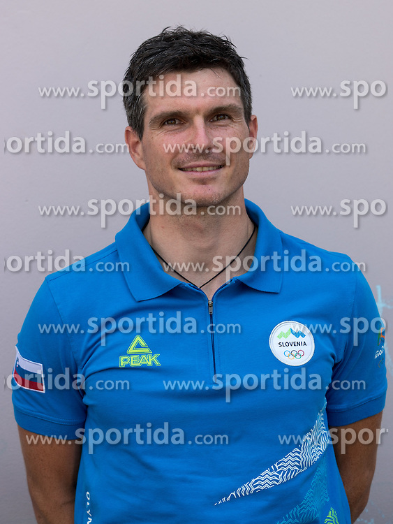 Peter Kauzer at presentation of Slovenian Olympic Team for Rio 2016, on July 22, 2016 in Koper, Slovenia. Photo by Matic Klansek Velej / Sportida