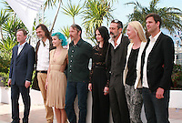 The cast at the photo call for the film The Salvation at the 67th Cannes Film Festival, Saturday 17th May 2014, Cannes, France.