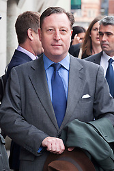 © under license to London News Pictures. 26/09/2012. London, UK. Neville Thurlbeck, ex-chief reporter for NOTW arriving at the Old Bailey in London where he faces charges relating to phone hacking. Photo credit:ALEX CHRISTOFIDES/LNP.  Three former News of the World staff have pleaded guilty to charges related to hacking phones, the trial of Rebekah Brooks and Andy Coulson heard.<br />