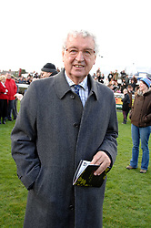LORD DONOUGHUE at the 2007 Hennessy Gold Cup held at Newbury racecourse, Berkshire on 1st December 2007.<br />