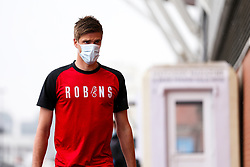 Markus Henriksen of Bristol City arrives during a friendly match before the Premier League and Championship resume after the Covid-19 mid-season disruption - Rogan/JMP - 12/06/2020 - FOOTBALL - St Mary's Stadium, England - Southampton v Bristol City - Friendly.