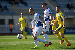 Tadej Vidmajer of NK Celje during football match between NK Domzale and NK Celje in Round #20 of Prva liga Telekom Slovenije 2017/18, on April 18, 2018 in Sports Park Domzale, Domzale, Slovenia. Photo by Urban Urbanc / Sportida