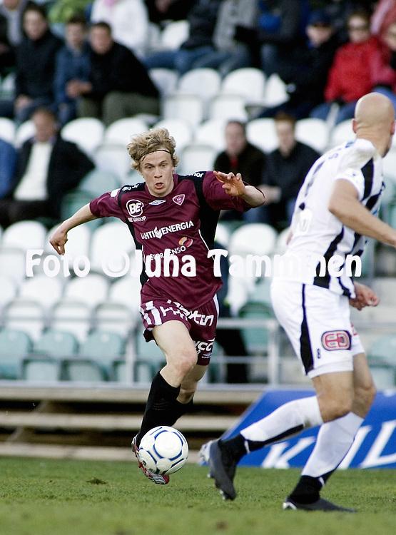 15.05.2007, Veritas Stadion, Turku, Finland..Veikkausliiga 2007 - Finnish League 2007.TPS Turku - FC Lahti.Konsta Hietanen - FC Lahti.©Juha Tamminen.....ARK:k