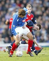 PORTSMOUTH 2 V SCUNTHORPE UNITED 1.     24.1.04. <br />