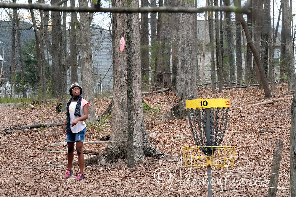 Disc Golf Course at Elon Park