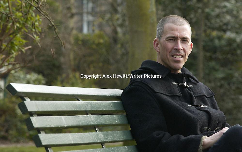 American Author Thomas Legendre near his home in Edinburgh, Scotland<br />