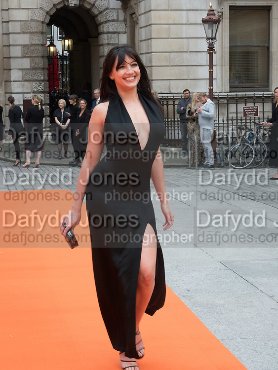 DAISY LOWE, Royal Academy of Arts Summer Party. Burlington House, Piccadilly. London. 7June 2017