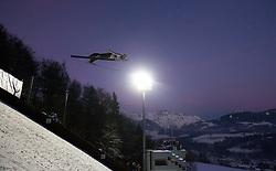 06.01.2015, Paul Ausserleitner Schanze, Bischofshofen, AUT, FIS Ski Sprung Weltcup, 63. Vierschanzentournee, Finale, im Bild Thomas Diethart (AUT) // Thomas Diethart of Austria during Final Jump of 63rd Four Hills <br /> Tournament of FIS Ski Jumping World Cup at the Paul Ausserleitner Schanze, Bischofshofen, Austria on 2015/01/06. EXPA Pictures © 2015, PhotoCredit: EXPA/ JFK
