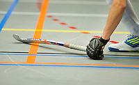 ARNHEM -  ILLUSTRATIE - , tijdens de eerste dag van de zaalhockey competitie in de hoofdklasse, seizoen 2013/2014. COPYRIGHT KOEN SUYK