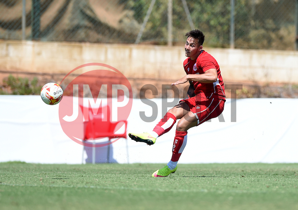 Josh Brownhill of Bristol City shoots  - Mandatory by-line: Joe Meredith/JMP - 22/07/2016 - FOOTBALL - La Manga Training Ground - La Manga, Murcia - UCAM v Bristol City - Pre-season friendly