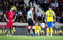 March 28, 2017 - Funchal, Madeira, Portugal - 20. Ricardo Quaresma, 16. Emil Krafth, 21. Jimmy Durmaz,..Sweden defeated Portugal 3-2 in a friendly game at Estadio do Maritimo, Madeira, Portugal 2017-03-28..(c) ERICSSON MARCUS  / Aftonbladet / IBL BildbyrÃ¥....* * * EXPRESSEN OUT * * *....AFTONBLADET / 85729 (Credit Image: © Aftonbladet/IBL via ZUMA Wire)