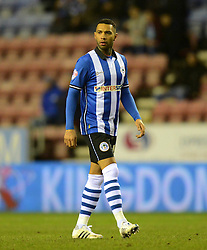 Wigan Athletic's Jermaine Pennant looks on - Photo mandatory by-line: Richard Martin-Roberts/JMP - Mobile: 07966 386802 - 24/02/2015 - SPORT - Football - Wigan - DW Stadium - Wigan Athletic v Cardiff City - Sky Bet Championship