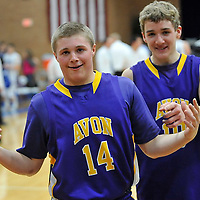 2.24.2012 Avon at Midview Boys Varsity Basketball