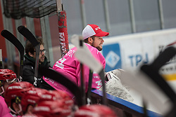 AVSENIK Urban during Alps Hockey League match between HC Pustertal and HDD SIJ Jesenice, on October 3, 2019 in Ice Arena Podmezakla, Jesenice, Slovenia. Photo by Peter Podobnik / Sportida
