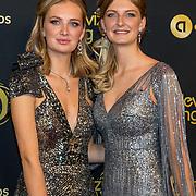 NLD/Amsterdam/20191009 - Uitreiking Gouden Televizier Ring Gala 2019, Maxime en Montana Meiland