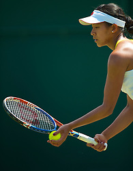 LONDON, ENGLAND - Tuesday, June 22, 2010: Anne Keothavong (GBR) during the Ladies' Singles 1st Round match on day two of the Wimbledon Lawn Tennis Championships at the All England Lawn Tennis and Croquet Club. (Pic by David Rawcliffe/Propaganda)