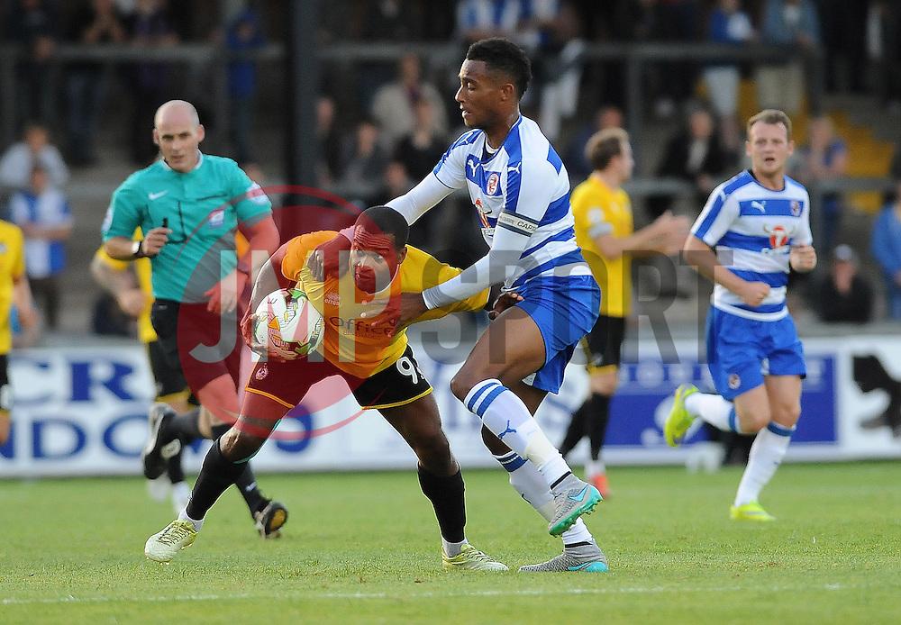 Jermaine Easter of Bristol Rovers - Mandatory by-line: Neil Brookman/JMP - 21/07/2015 - SPORT - FOOTBALL - Bristol,England - Memorial Stadium - Bristol Rovers v Reading - Pre-Season Friendly