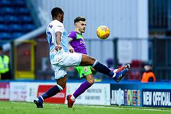Jamie Paterson of Bristol City takes on Ryan Nyambe of Blackburn Rovers - Mandatory by-line: Robbie Stephenson/JMP - 09/02/2019 - FOOTBALL - Ewood Park - Blackburn, England - Blackburn Rovers v Bristol City - Sky Bet Championship