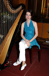 CATRIN FINCH at a carol concert in aid of the Institute of Cancer Research at the Royal Hospital Chapel, Chelsea on 2nd December 2004.<br /><br />NON EXCLUSIVE - WORLD RIGHTS