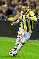 ARNHEM - Vitesse - PSV , Voetbal , Eredivisie , Seizoen 2016/2017 , Gelredome , 29-10-2016 ,  Vitesse speler Adnane Tighadouini